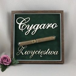 """RAMKA """"CYGARO ZWYCIĘSTWA"""""""